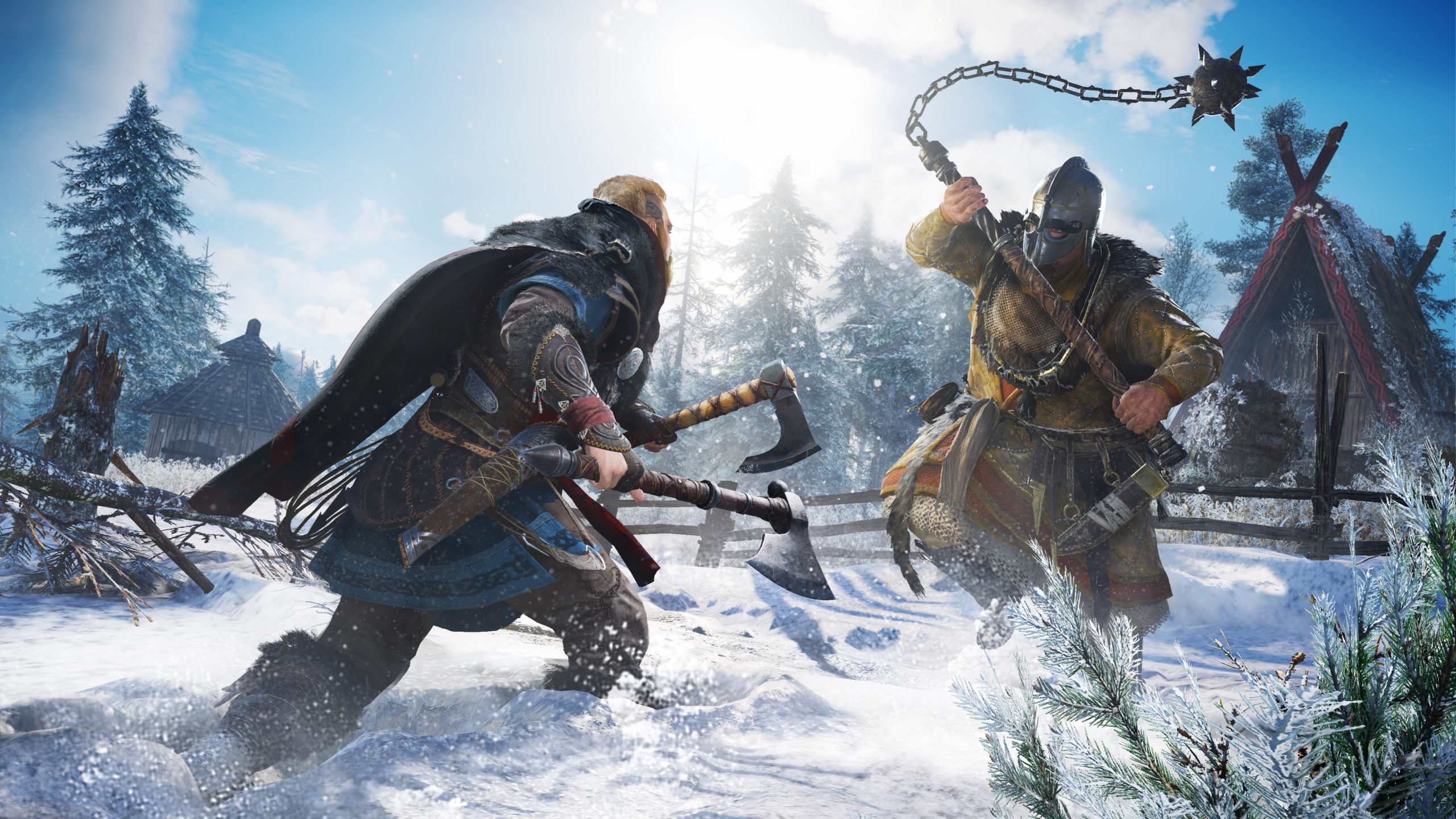 Les combats dans Assassin's Creed Valhalla promettent d'être particulièrement féroces