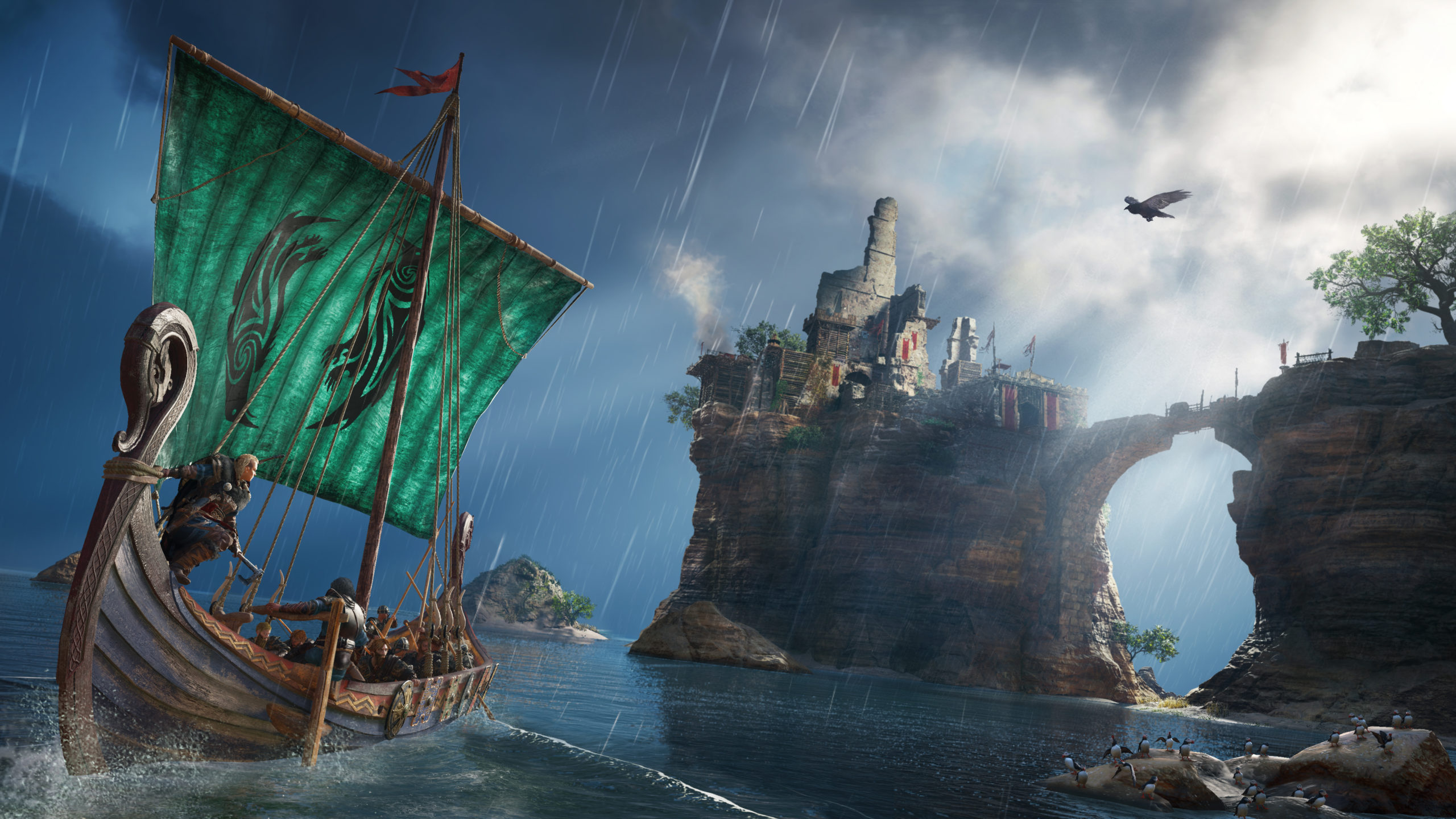 Le jeu vous demandera de recréer les féroces raids des Vikings à bord de leur drakkar