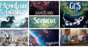 Jeux de société Kickstarter début avril 2020