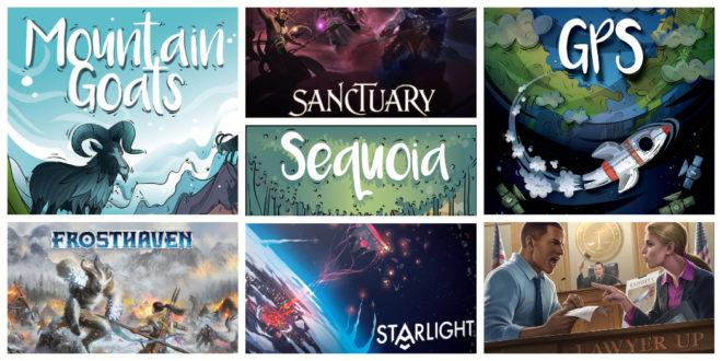 Kickstarter – Les jeux de société à surveiller pour le début avril 2020