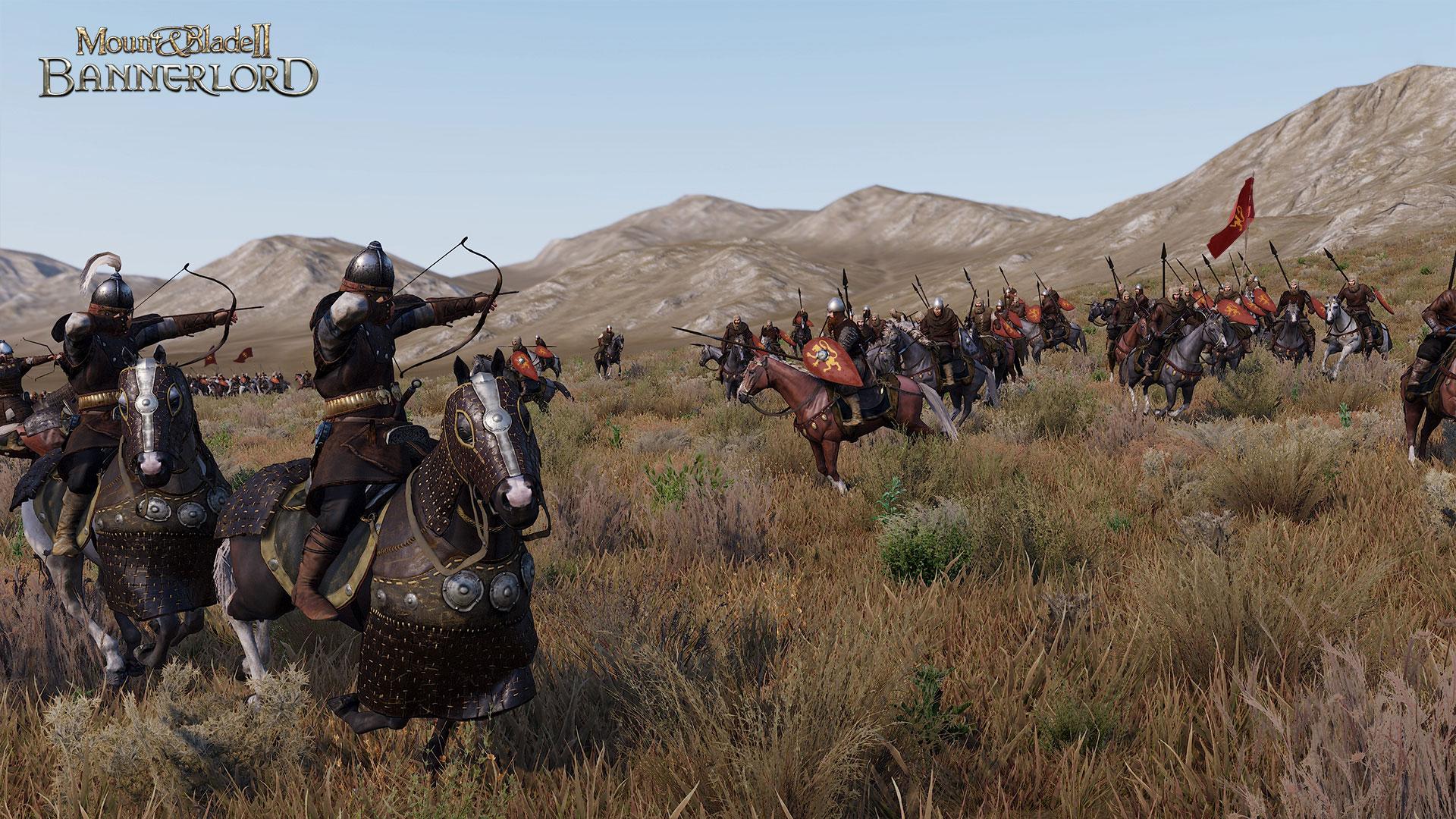 Capture d'écran d'une bataille tirée du site de Taleworlds.