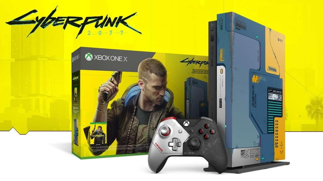 Cyberpunk 2077 est un des jeux les plus attendus cette année et cette nouvelle édition de la console Xbox One X se vendra comme des petits pains