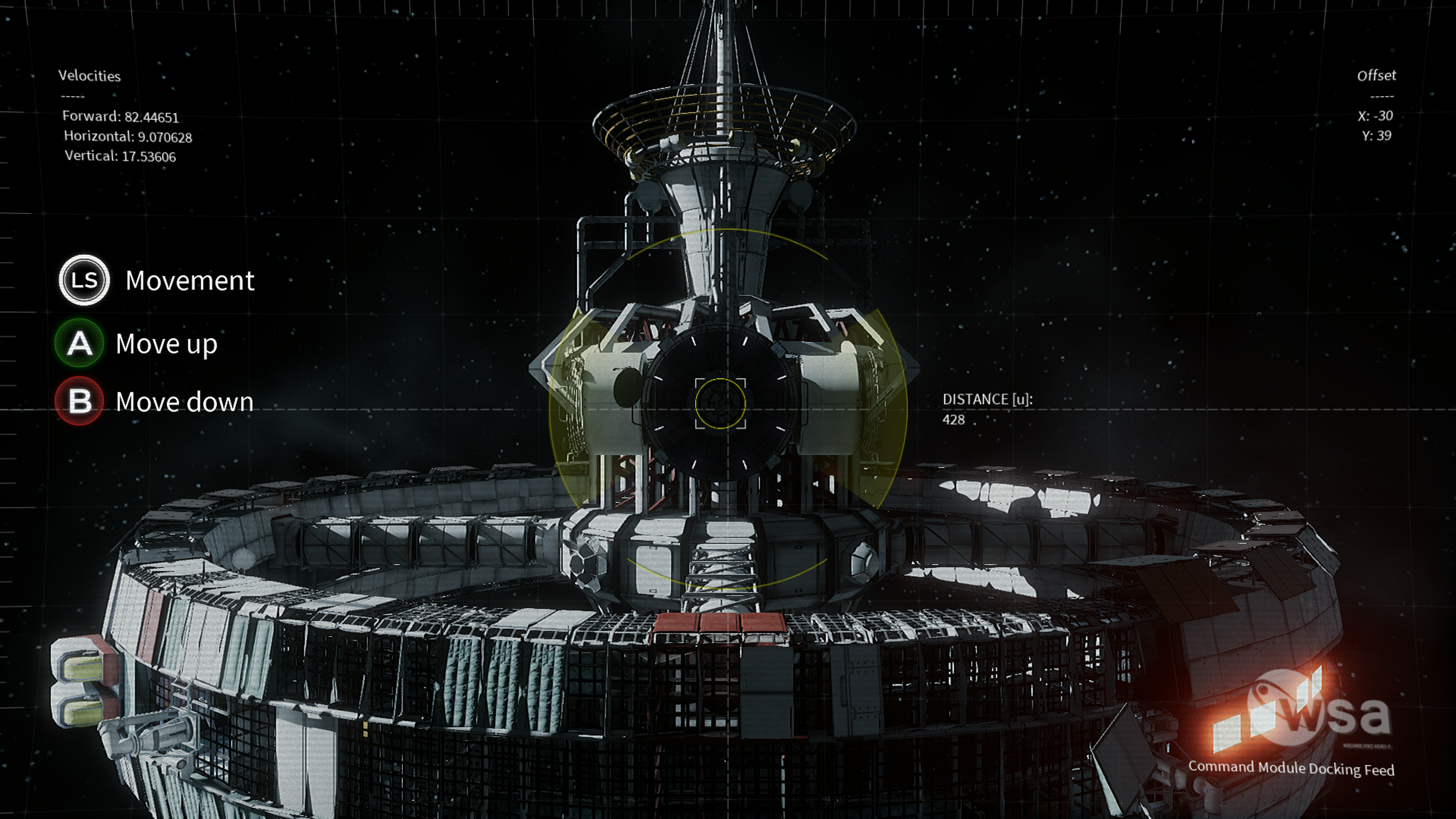Le jeu demande des nerfs d'acier alors que vous devrez manipuler les commandes de votre vaisseau.