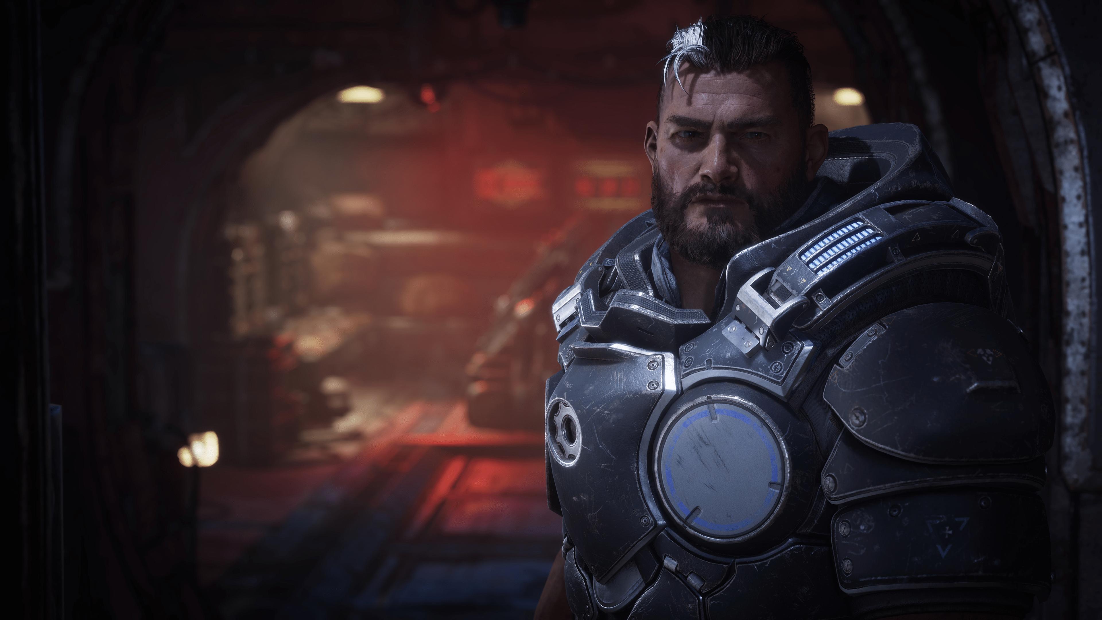 Gabriel Diaz le héro de Gears Tactics