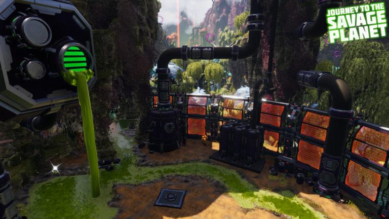 L'ennemi principal dans Hot Garbage est une compagnie rivale à Kindred qui a décidé d'utiliser DL-C1 comme lieu où y laisser leurs déchets toxiques