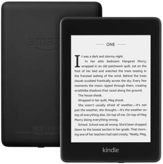 Liseuse Kindle Paperwhite | Dix idées cadeaux pour une fête des Mères technologique