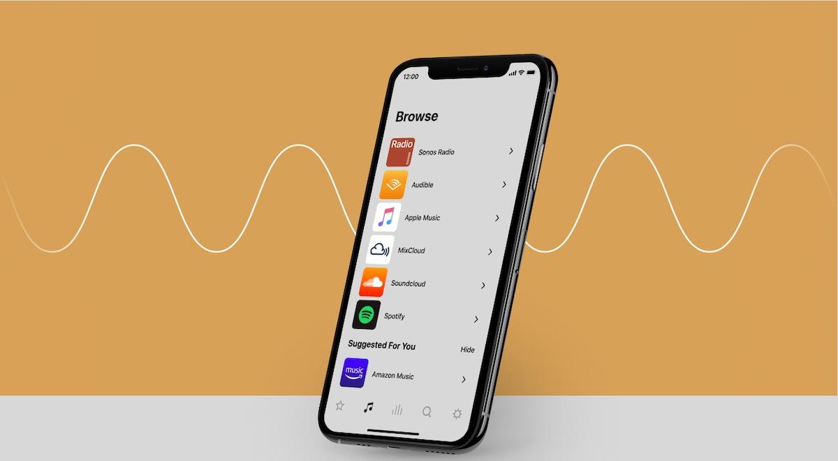 Application Sonos S2