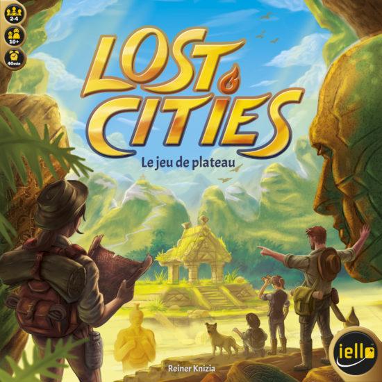 Lost Cities : Le jeu de Plateau (2008)