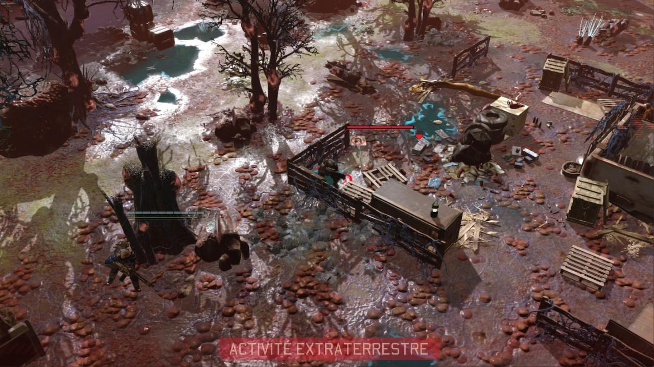 Les unités extra-terrestres aussi doivent se déplacer.