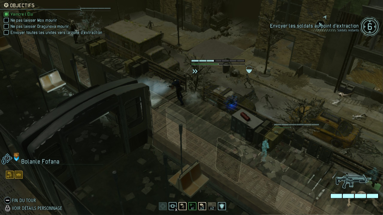 Tour des unités XCOM.