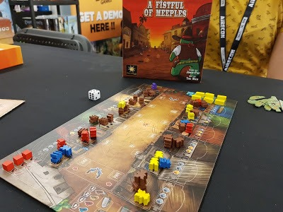 Plateau de jeu A Fistful of Meeples