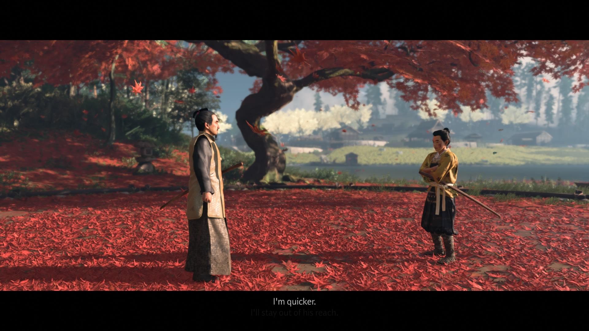 Jin Sakai a appris depuis son plus jeune âge les règles du samouraï auprès de son oncle