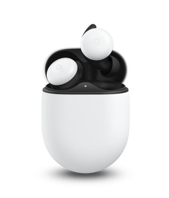 Google Pixel Buds (Franchement blanc) - Image fournit par Google