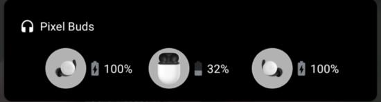 Google Pixel Buds - notification
