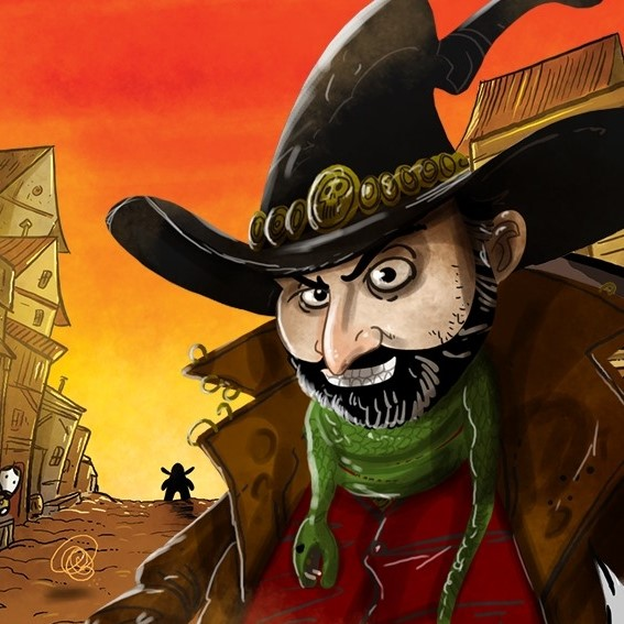 Caricature de Jonny Pac Cantin par de Mico