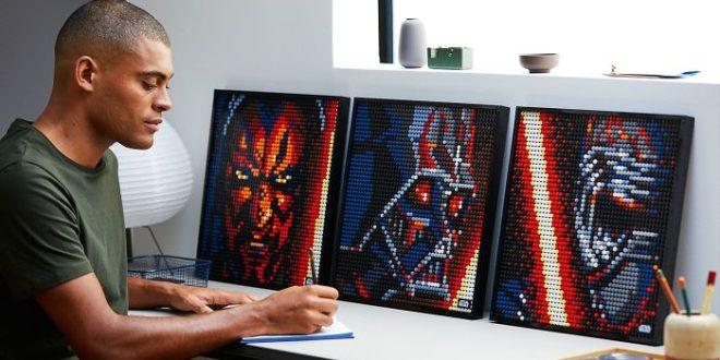Créez des oeuvres murales colorées avec la collection LEGO Art