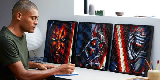 LEGO Art Sith