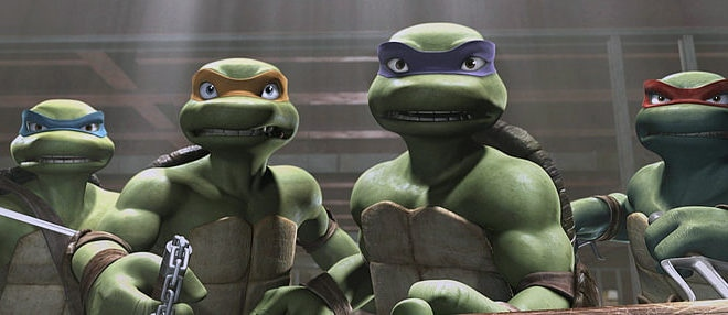 Nouveau film animé des Tortues Ninja par Nickelodeon et Seth Rogen