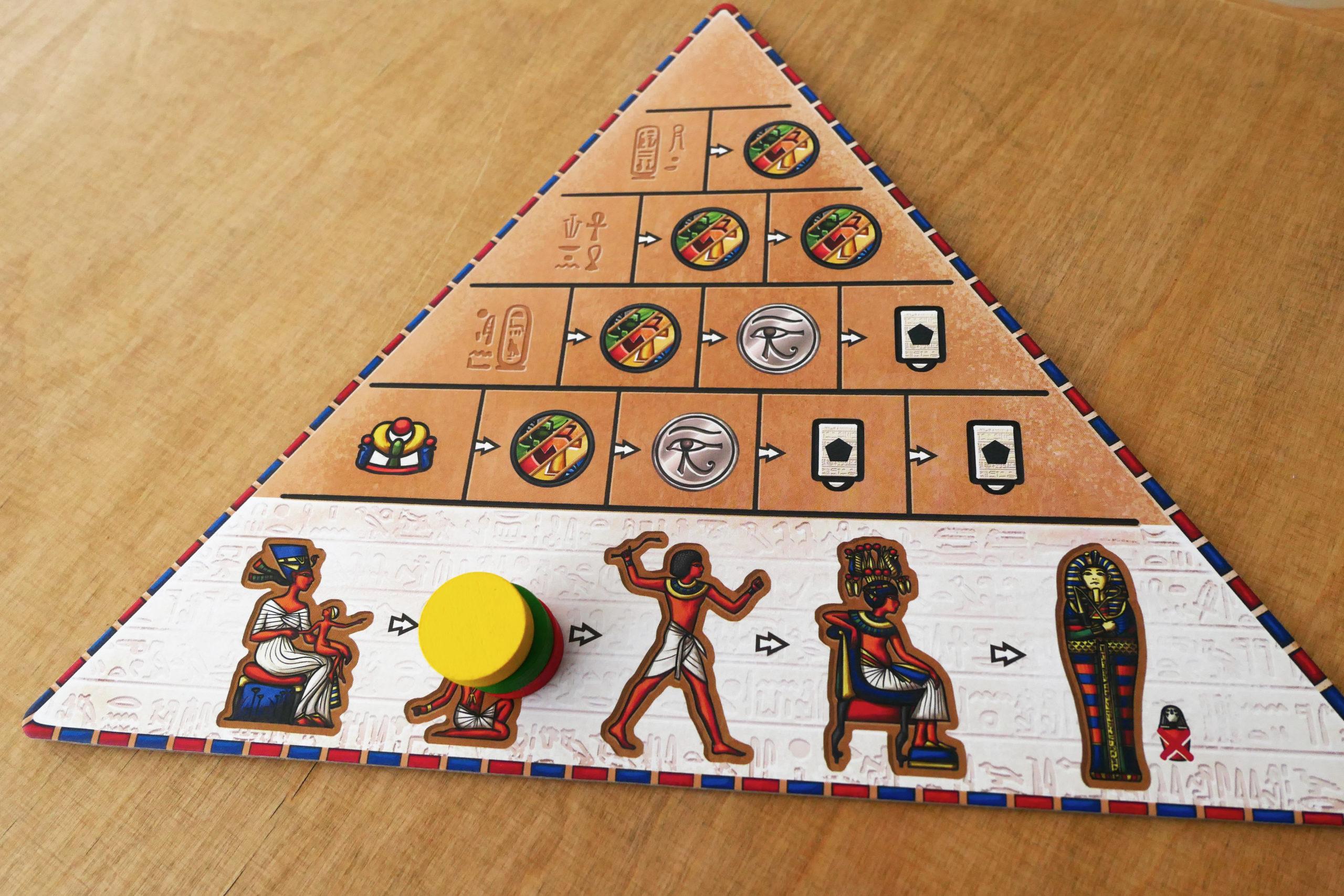 Plateau pyramide, attente de prochain tour.