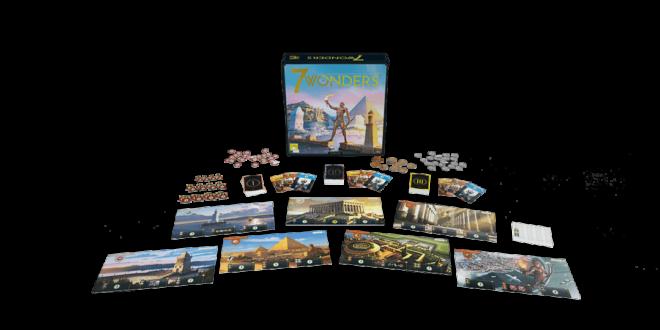 Le jeu de société primé 7 Wonders fête ses dix ans et s'offre une cure de jeunesse!