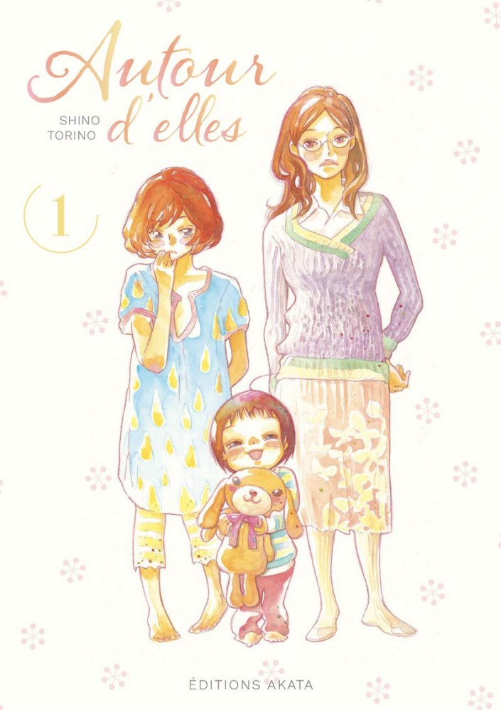 Voici la couverture du manga : Autour d'elles de Torino Shino