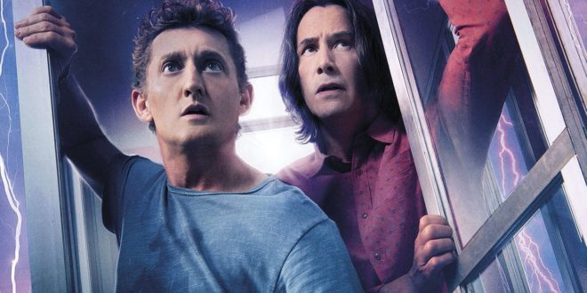 Keanu Reeves et Alex Winter dans Bill & Ted face the music