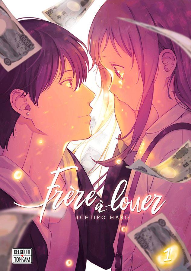 Voici la couverture du manga : Frère à louer d'Ichiiro Hako