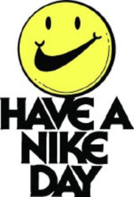 Nike logo vintage