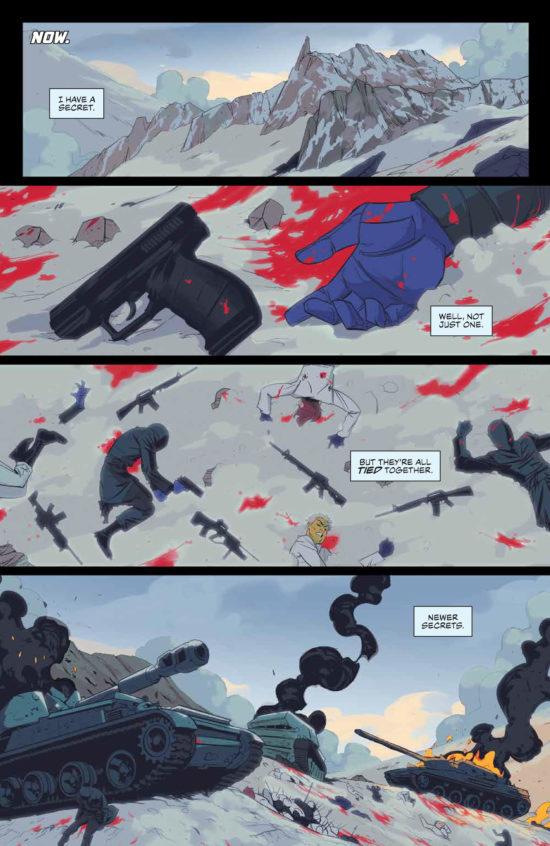 seven secrets #1 page 1