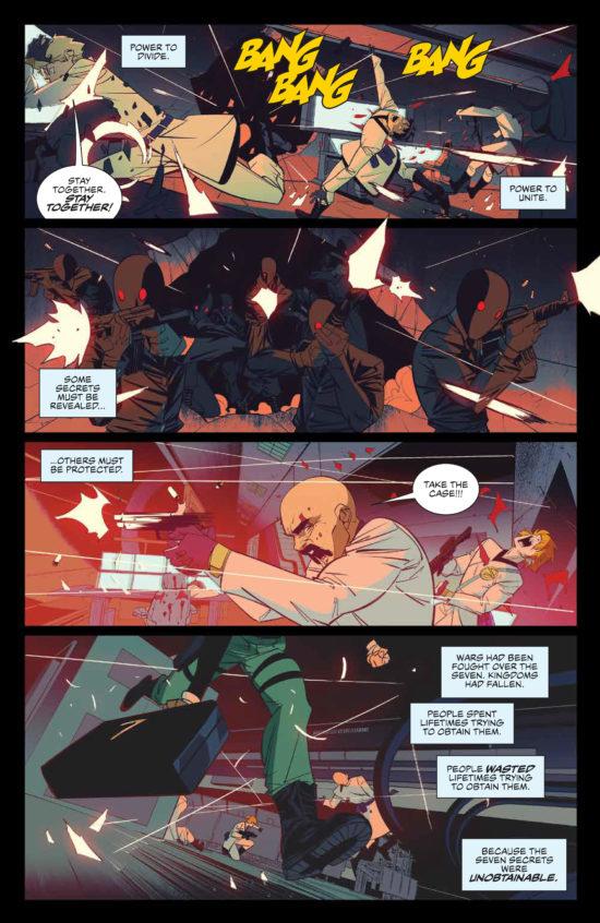 seven secrets #1 page 5