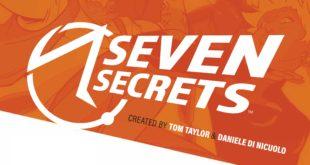Seven Secrets bande dessinée comic de BOOM! bandeau