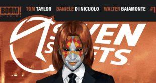 Seven Secrets critique bande dessinée titre couverture alternative