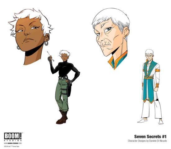 Arts conceptuel de Seven Secrets 1