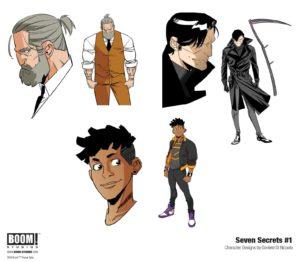 Arts conceptuel de Seven Secrets 2