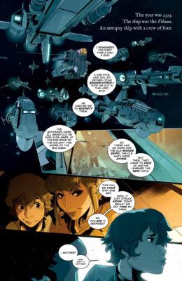 La première page de We only find them when they're dead