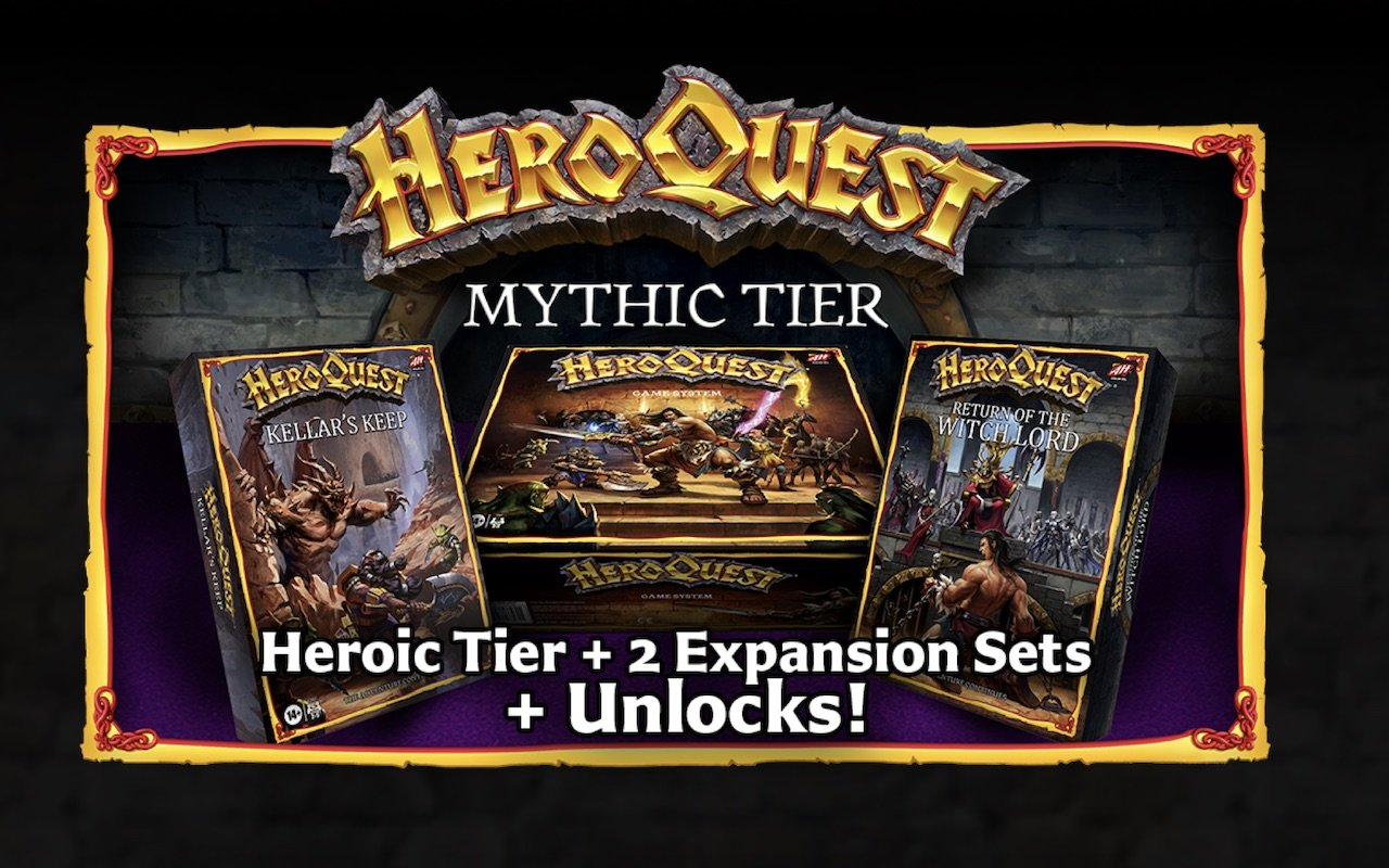 HeroQuest Mythic Tier