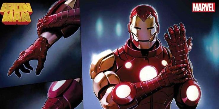 Redesign de l'armure de Iron Man