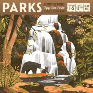 Parks, boîte du jeu.