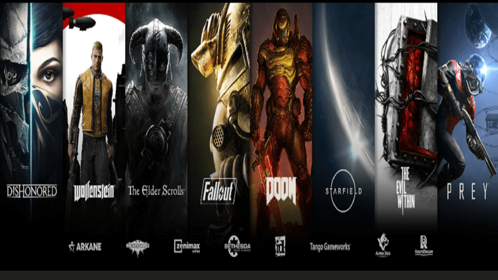 Plusieurs franchises à succès deviendront propriété de Microsoft, comme The Elder Scrolls et Doom