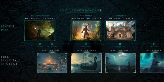Ubisoft annonce le contenu post-lancement pour Assassin's Creed Valhalla
