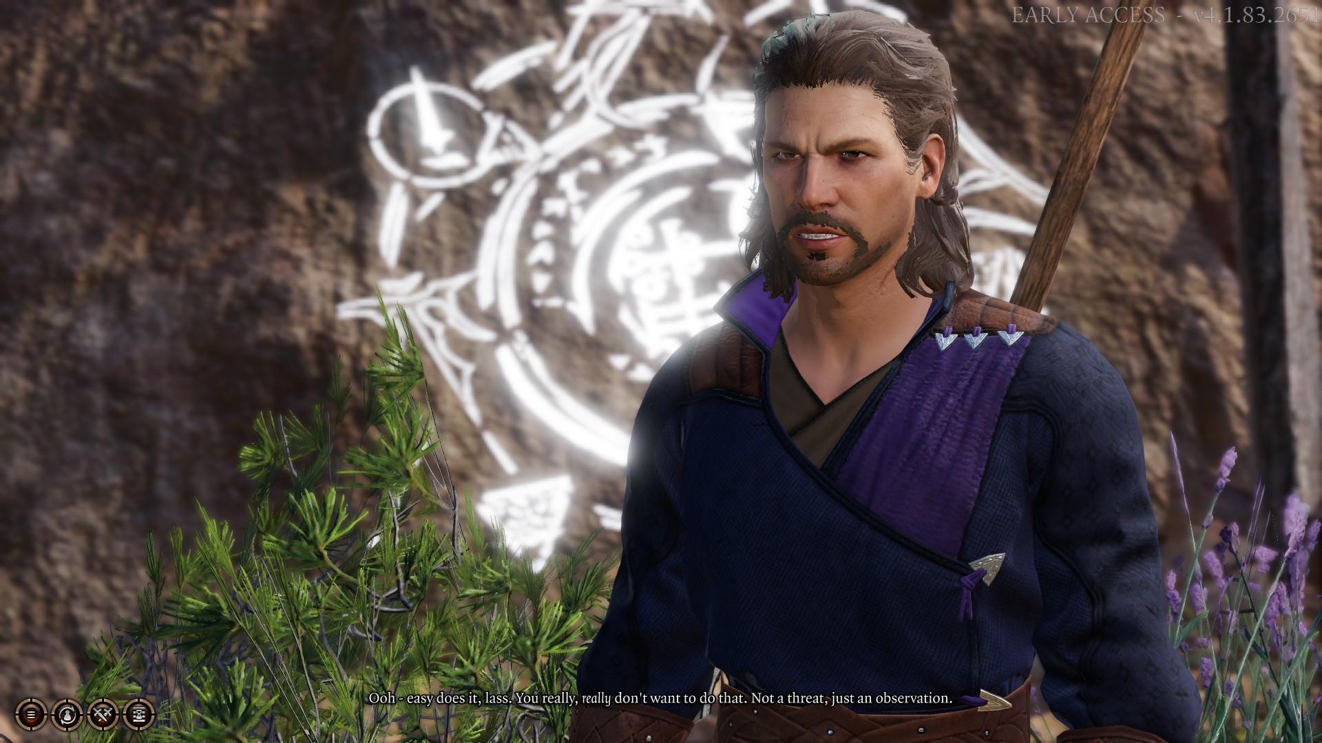 Gale, l'un des compagnons du jeu.