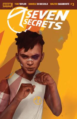couverture alternative Seven Secrets #3