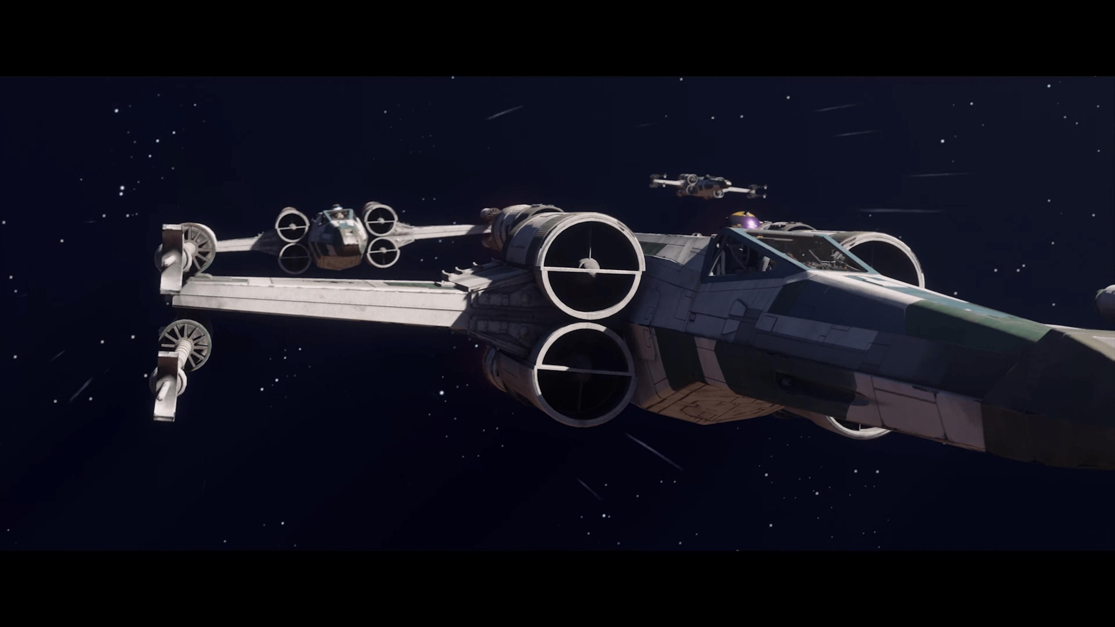 Monter à bord d'un chasseur X-Wing comme Luke Skywalker est maintenant possible avec Star Wars Squadrons.