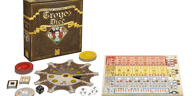 Troyes Dice, un renouveau dans le Roll & Write