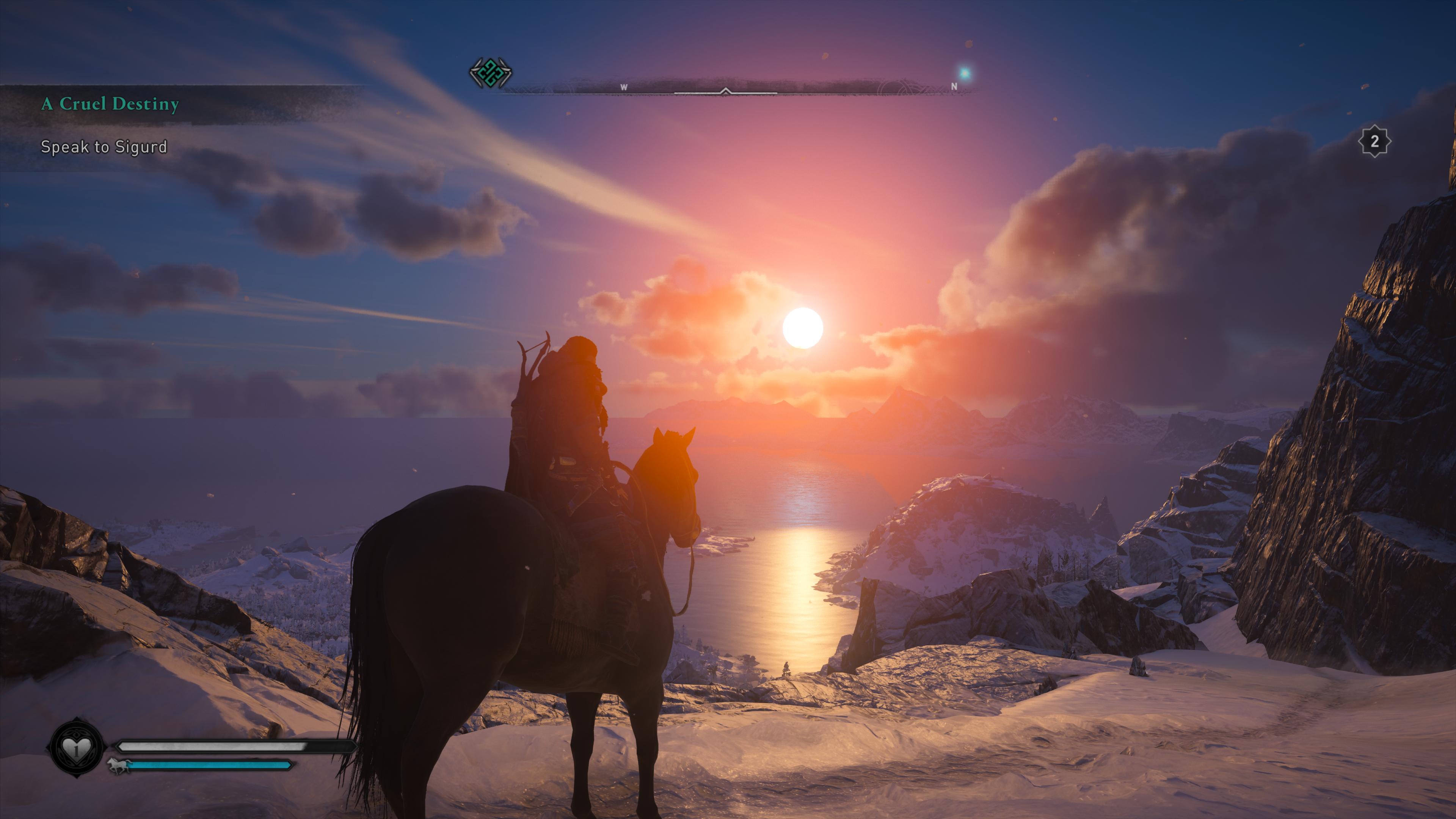 Le nouveau Assassin's Creed, Valhalla, bénéficie de la puissance de la Xbox Series X au niveau des effets visuels