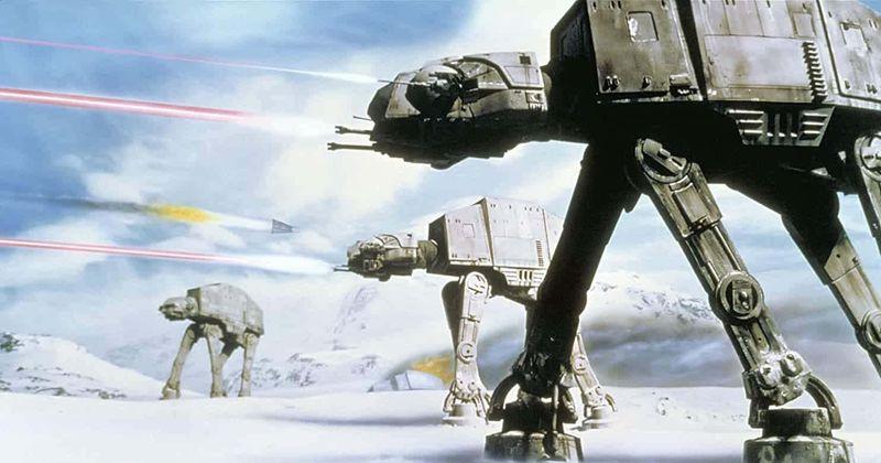 La bataille de Hoth utilisait la technique d'animation image par image, un processus lent et fastidieux