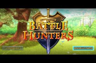 Écran titre de Battle Hunters.