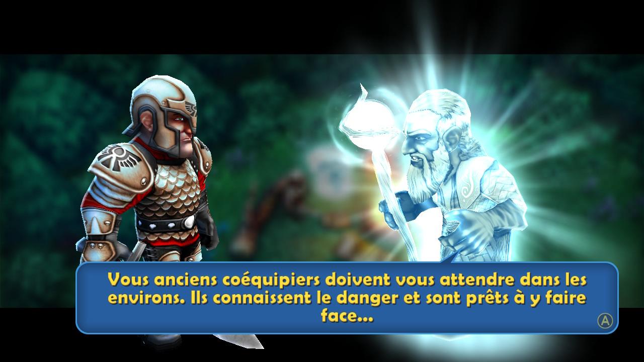 Il y a un problème de traduction dans Battle Hunters!