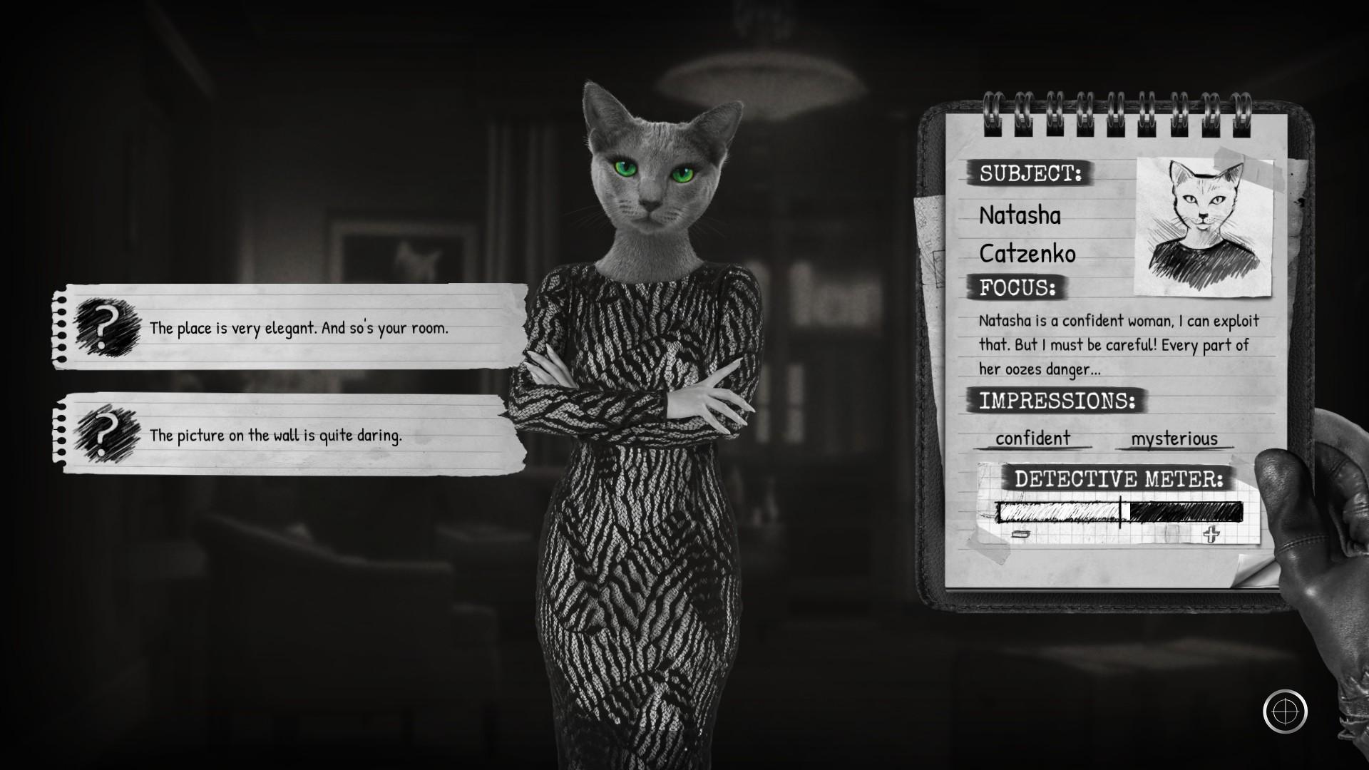 L'interrogatoire de Natasha Catzenko.