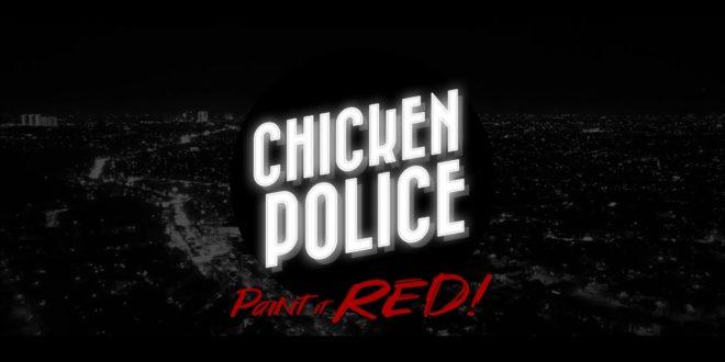 Écran titre de Chicken Police